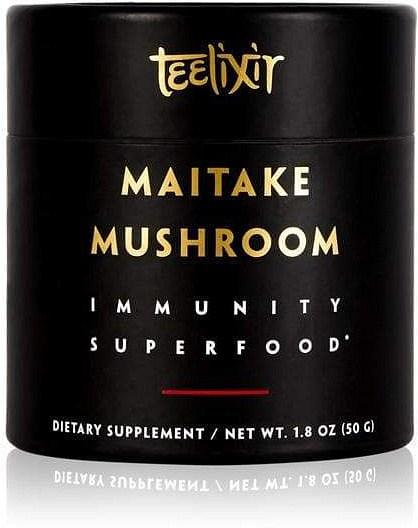 Teelixir Organic Maitake Mushroom Powder Immunity Superfood  50g