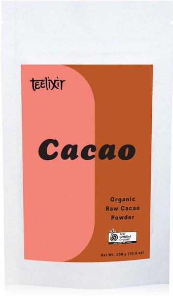 Teelixir Organic Raw Cacao Powder  300g