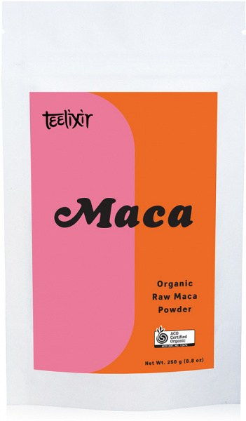 Teelixir Organic Raw Maca Powder  250g