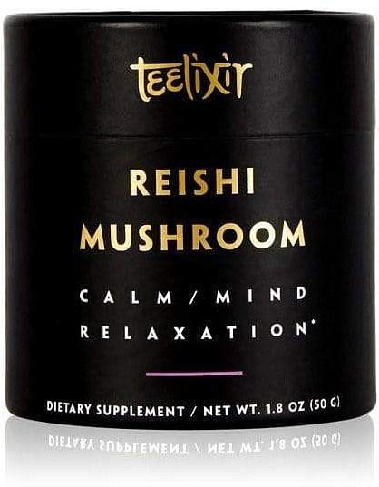 Teelixir Organic Reishi Mushroom Powder Calm/Mind Relaxation  50g