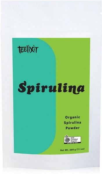 Teelixir Organic Spirulina Powder  200g