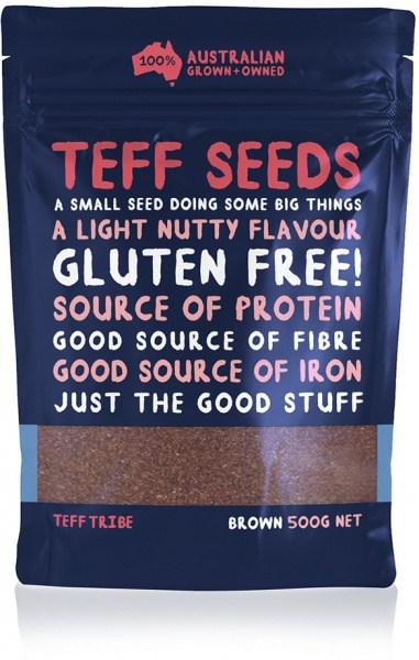 Teff Tribe Brown Teff Seed  500g