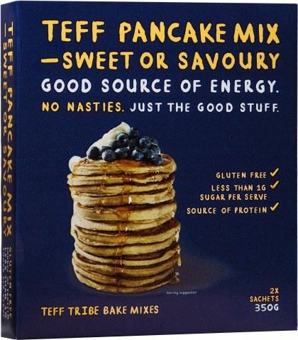 Teff Tribe Pancake Mix Sweet or Savoury  350g