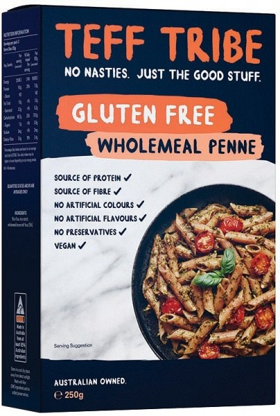 Teff Tribe Wholemeal Penne  250g