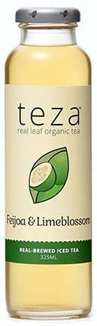Teza Feijoa & Limeblossom Real Brewed Iced Tea 12x325ml