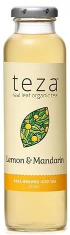 Teza Lemon & Mandarin Real Brewed Iced Tea 12x325ml MAY20