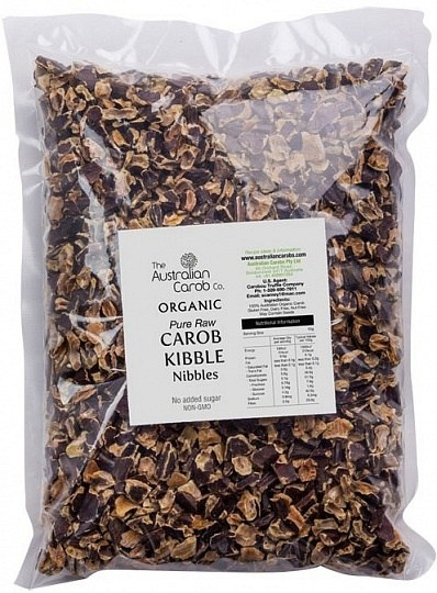 The Australian Carob Organic Carob Kibble Nibbles Raw 5Kg
