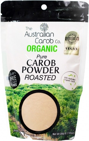 The Australian Carob Organic Carob Powder Roasted 200g