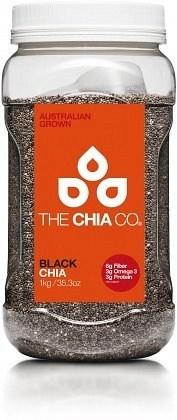 The Chia Co Chia Seed Black 1Kg