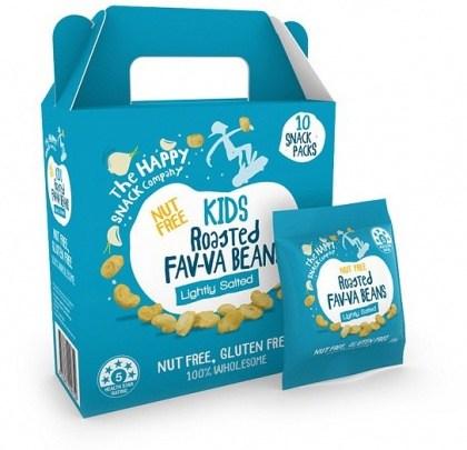 The Happy Snack Company KIDS Fav-va Beans Lightly Salted 10x15g Pack