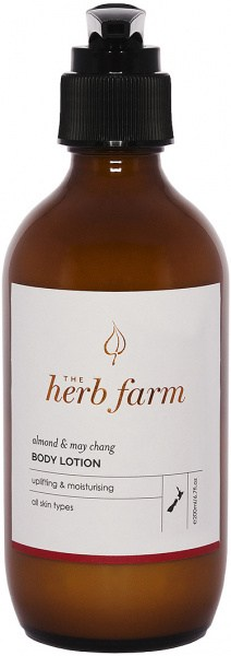 The Herb Farm Almond & May Chang Body Lotion 200ml