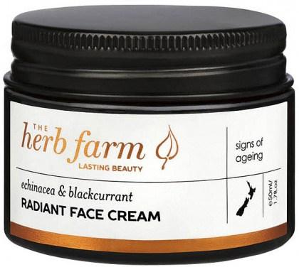 The Herb Farm Echinacea & Blackcurrant Radiant Face Cream 50ml
