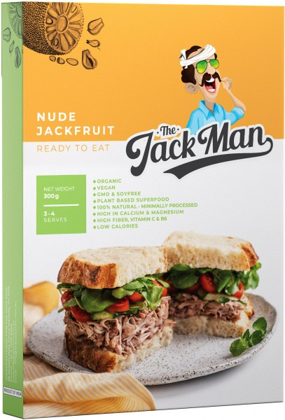 The Jack Man Nude Jackfruit Ready Meal  900g