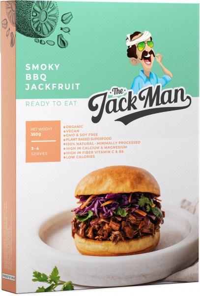The Jack Man Smoky BBQ Jackfruit Ready Meal 350g