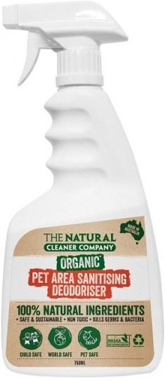 The Natural Cleaner Company Organic Pet Area Sanitising Deodoriser 750ml