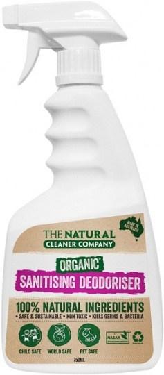 The Natural Cleaner Company Organic Sanitising Deodoriser 750ml
