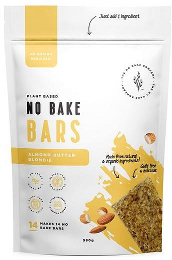 The No Bake Company Almond Butter Blondie No Bake Bar Mixture  580g