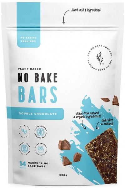 The No Bake Company Double Chocolate No Bake Bar Mixture  530g