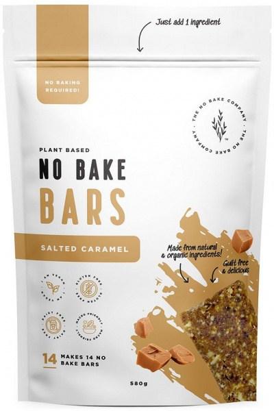 The No Bake Company Salted Caramel No Bake Bar Mixture  580g