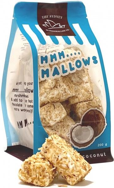 The Sydney Marshmallow Co Organic Toasted Coconut Marshmallow  200g