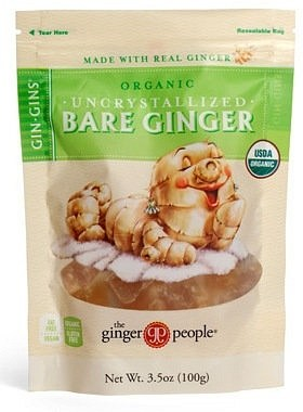 TheGinger People Organic Uncrystalised Bare Ginger 100gm