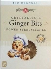 TheGingerPeople Organic Crystallised Ginger Bits  125g