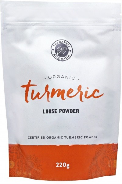 Therapeia Australia Organic Turmeric Loose Powder 220g