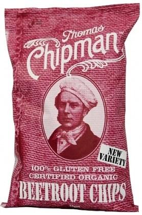 Thomas Chipman Beetroot Chips  75g
