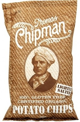 Thomas Chipman Lightly Salt Potato Chips 100g