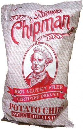 Thomas Chipman Sweet Chilli Salsa Potato Chips  100g