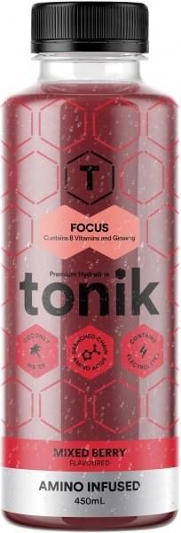 Tonik Active Mixed Berries Flavour Focus  450ml