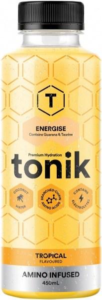 Tonik Active Tropical Flavour Energise  450ml