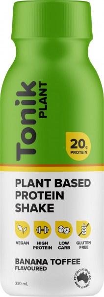 Tonik Plant Protein Drink Banana Toffee  330ml