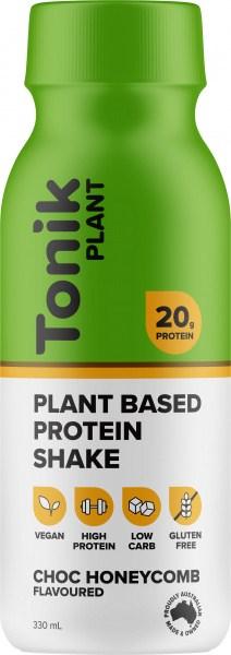 Tonik Plant Protein Drink Choc Honeycomb  330ml