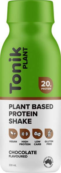 Tonik Plant Protein Drink Chocolate  330ml
