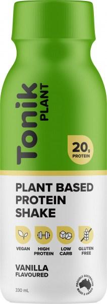 Tonik Plant Protein Drink Vanilla  330ml