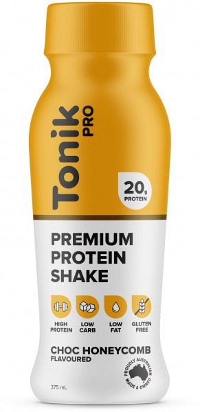 Tonik Pro Protein Drink Chocolate Honey Comb  375ml