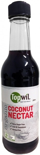TopwiL Organic Coconut Nectar Bottle  250mL