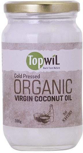 TopwiL Organic Virgin Coconut Oil Bottle 300g