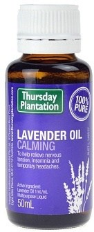 Thursday Plantation Lavender Oil Calming 100% 50ml