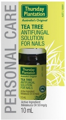 Thursday Plantation Tea Tree Antifungal Solution for Nails 10ml