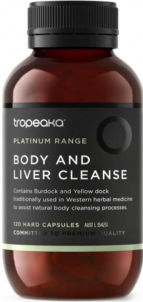 Tropeaka Body and Liver Cleanse  120Caps