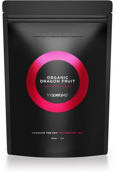 Tropeaka Organic DRAGON FRUIT (Pink Pataya) Powder  200g