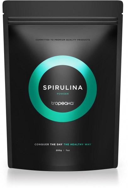 Tropeaka Organic SPIRULINA Powder  200g Pouch