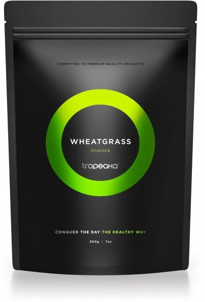 Tropeaka Organic WHEATGRASS Powder  200g Pouch