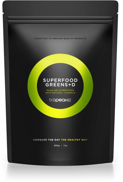 Tropeaka SUPERFOOD GREENS + D Powder  200g Pouch