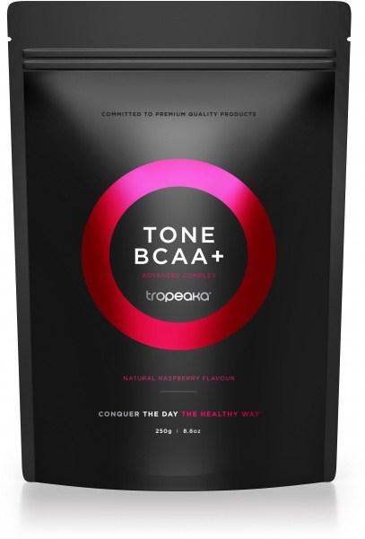 Tropeaka TONE BCAA+ Raspberry  250g Pouch