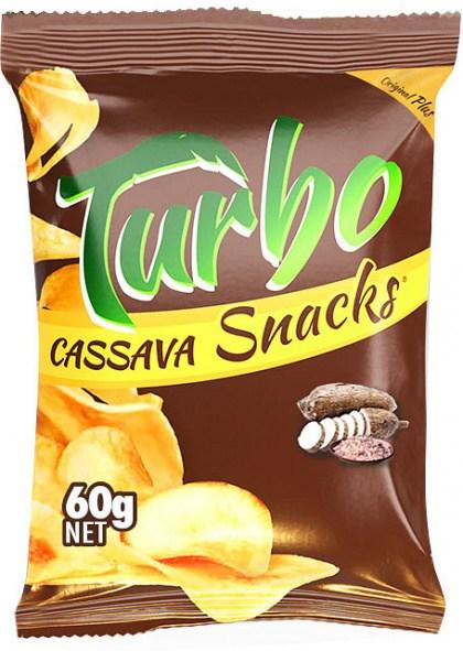 Turbo Snacks Cassava Original Plus+Himalaya Salt  60g