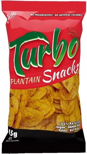 Turbo Snacks Plantain Chilli 45g