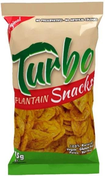 Turbo Snacks Plantain Original 45g
